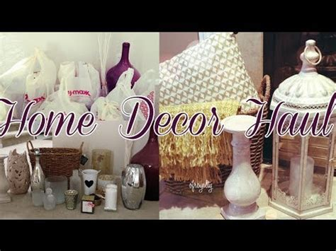 home decor haul tj maxx target charmaine manansala