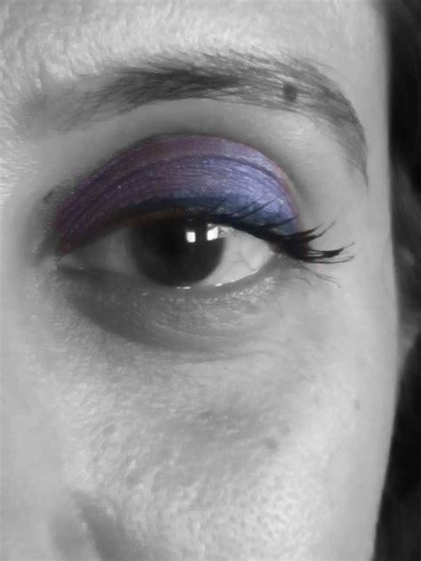 oriflame theone eye shadow plum swatches