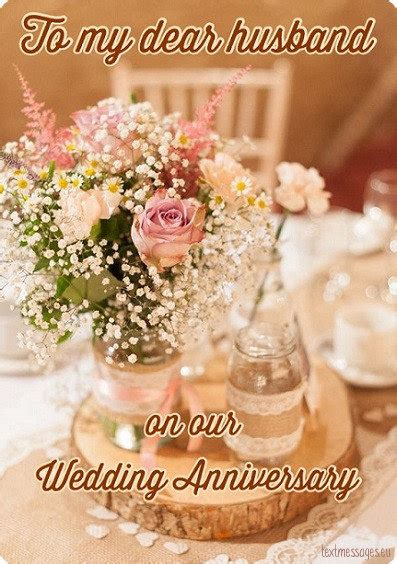wedding anniversary wishes for husband with images