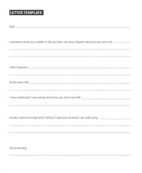 Apology Letter Sign how to sign an apology letter