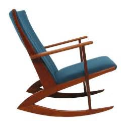 Kubus Armchair Soren Georg Jensen For Kubus Teak Rocking Chair At 1stdibs