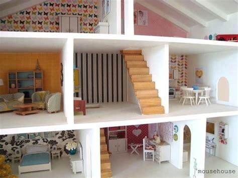 Mainan Rumah Rumahan Villa And Furniture adorable girly small dollhouse ideas