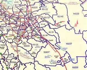 San Jose Zip Code Map by San Jose Small Appliance Repair San Jose Emergency