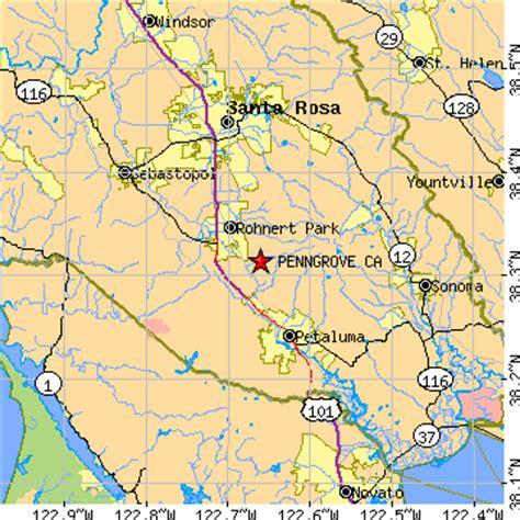 zip code map rohnert park ca penngrove california ca population data races