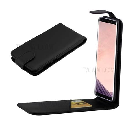 Ss7514 Vertical Flip Leather Galaxy S8 Black vertical flip leather mobile phone for samsung galaxy