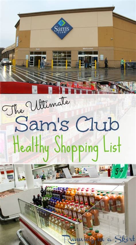 The Ultimate Healthy Sam S Club Shopping List Running In A Skirt Sam S Club Shopping List Template
