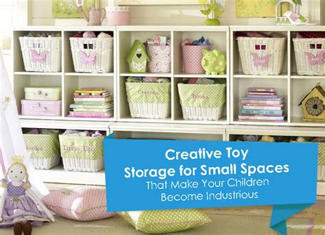 creative storage for small spaces that make your