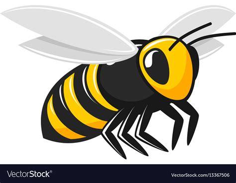 stock vector graphics royalty free vectors flying bee royalty free vector image vectorstock