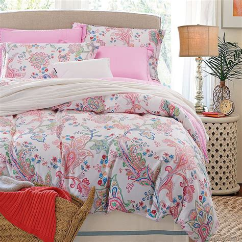 Flower Bed Sets American Style 3d Bedding Set Flower Bed Linen Include Duvet Cover Flat Sheet Pillowcases 4