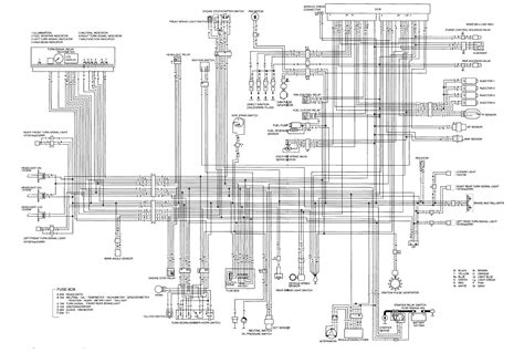 honda cbr  rr wiring diagram wiring diagram  schematic