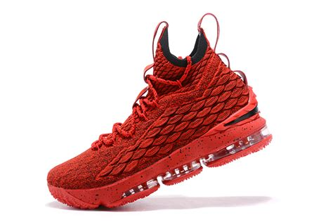 school basketball shoes for sale 2017 nike lebron 15 red basketball shoes for