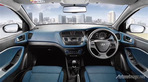 Out Of Style 2017 Hyundai I20 Active Black Blue Interior Autonetmagz