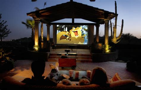 backyard theater terrific look outside the home movie theater ideas