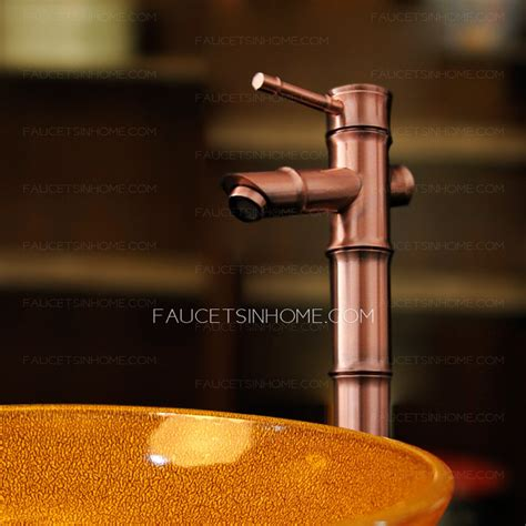 antique copper vessel sink faucets antique copper bathroom sink faucets