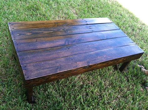Handmade Wood Coffee Table - handmade reclaimed wood coffee table