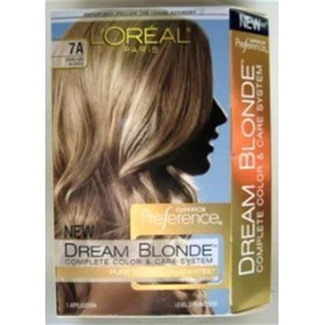 7a hair color l oreal superior preference hair