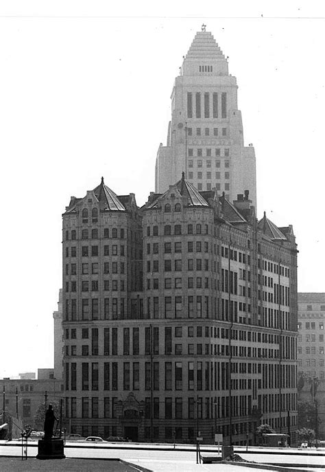 City Of Los Angeles Records Los Angeles Of Records Building Downtown L A 1960