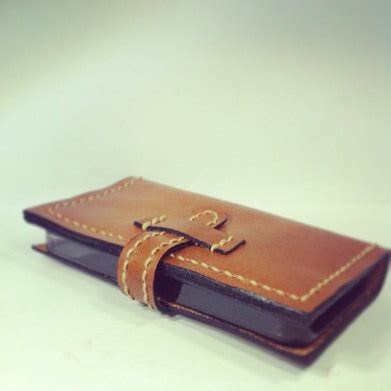 Handmade Leather Phone - items similar to personalized handmade leather phone
