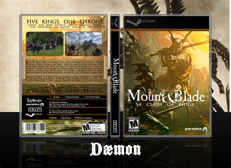 Pc Dvd Blade mount and blade a clash of pc box by mindfyre on