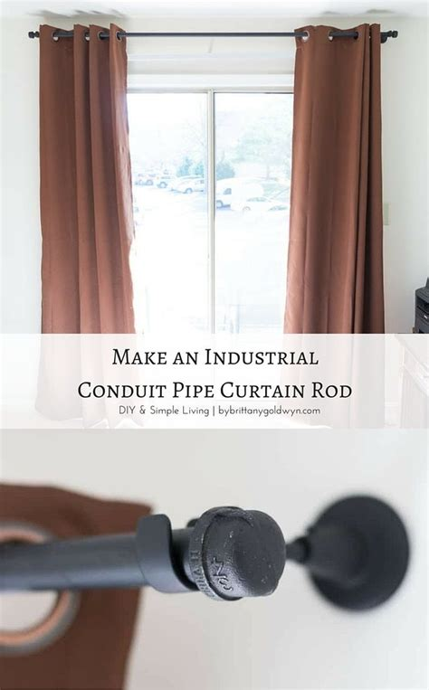 long curtain pole one piece a 2 curtain rod that s strong up to 10 feet and looks