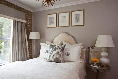 gray and gold bedroom chic grey bedrooms with yellow accents transitional