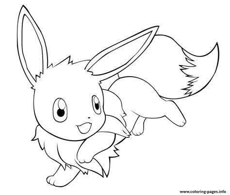 cute pokemon coloring pages eevee cute eevee pokemon coloring pages printable