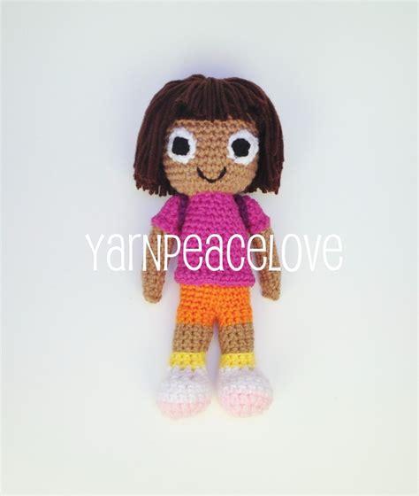 dora the explorer pattern free crochet dora the explorer inspired doll by yarnpeacelove