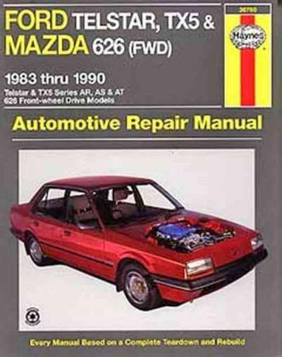 service manual hayes car manuals 1997 mazda b series engine control service manual small ford telstar tx5 mazda 626 fwd 1983 1990 haynes service repair manual books worth reading