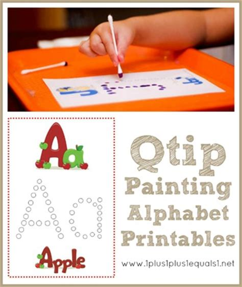 free abc painting free abc s q tip painting printables blessed beyond a doubt