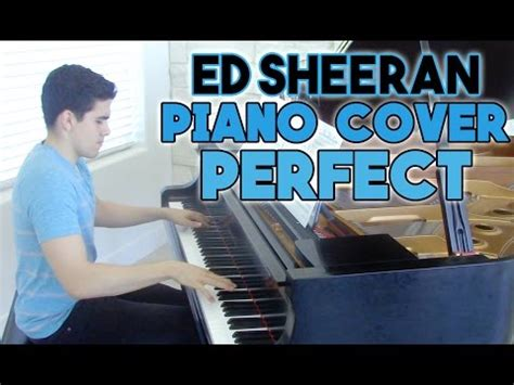 keyboard tutorial ed sheeran quot perfect quot piano cover sheet music ed sheeran