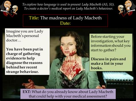 themes of madness in macbeth english literature language ks3 4 5 lessons resources