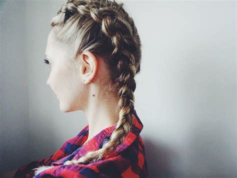 hair trend two dutch braids so far so sabine