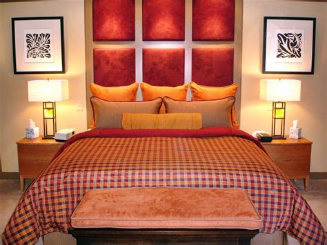 red fabric headboard 10 creative headboard ideas bedrooms bedroom