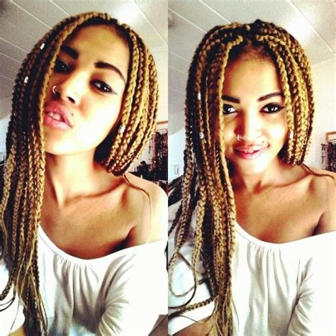 honey blonde and black boxbraids factory direct wholesale http www latesthair com sale