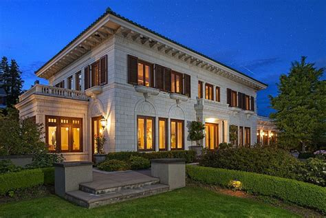 11 5 million beautifully restored 1933 mansion in seattle