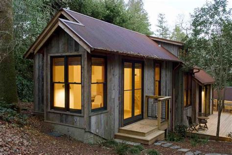 Backyard Cabin by Gardening Landscaping Backyard Cottage Shed Plans