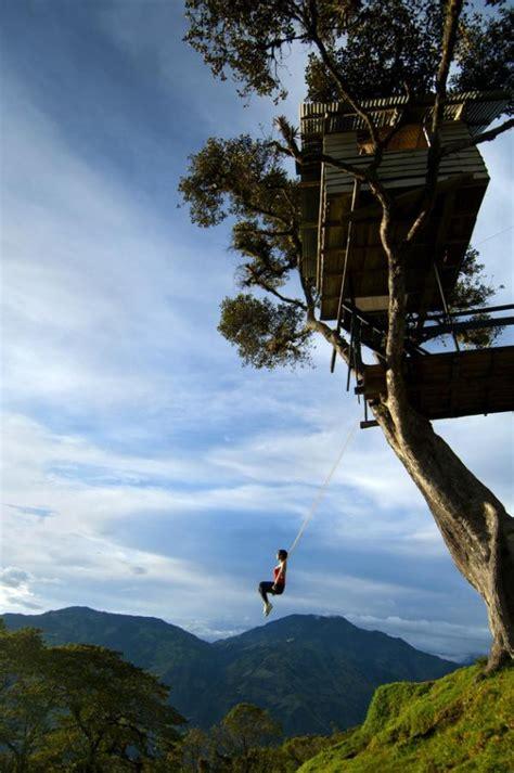 swing in ecuador 6 voyages insolites en equateur voyage insolite