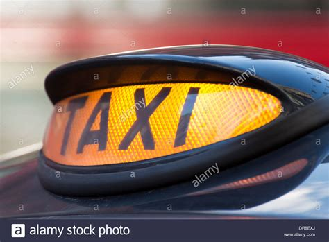 Taxi Light by Illuminated Black Taxi Cab Light Uk Stock Photo Royalty Free Image 65955530