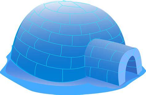 iglo haus kostenlose vektorgrafik iglu schnee eis haus k 228 lte