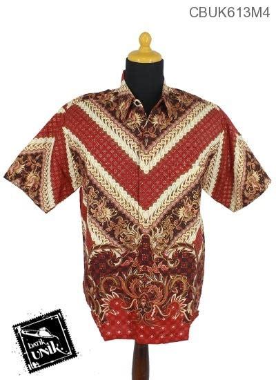 Kemeja Batik Lengan Pendek Prodo Kapal kemeja pendek prodo motif parang nggunung kemeja lengan pendek murah batikunik