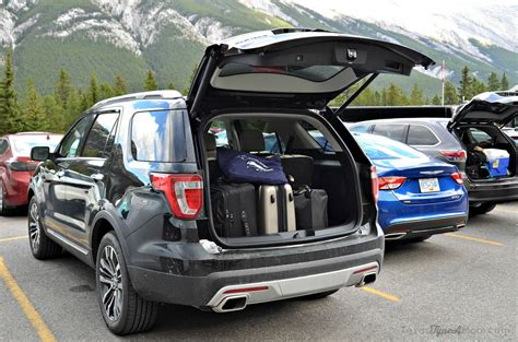 ford explorer trunk space pin 3rd row seat pics needed on