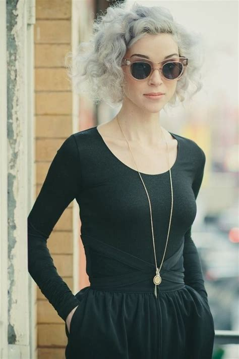 granny chic could you rock this new granny chic grey hair trend