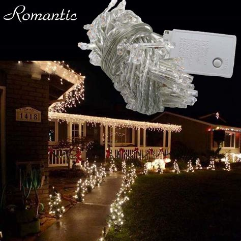 100m 600leds led string lights warm white outdoor