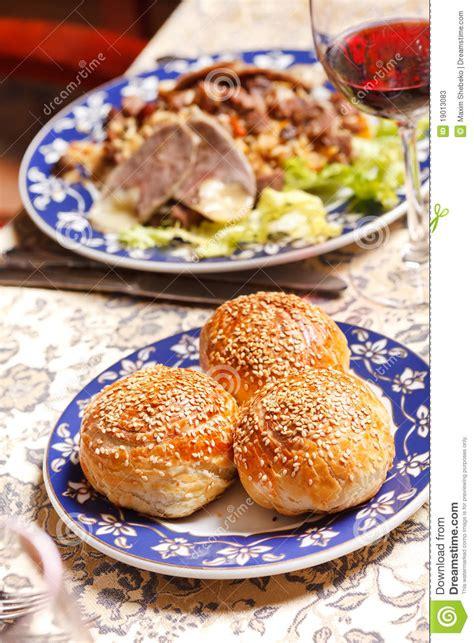 uzbek national dish uzbek national dish stock photos image 19013083