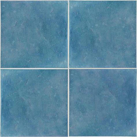 Blue Ceramic Floor Tile Blue Bathroom Tiles Texture