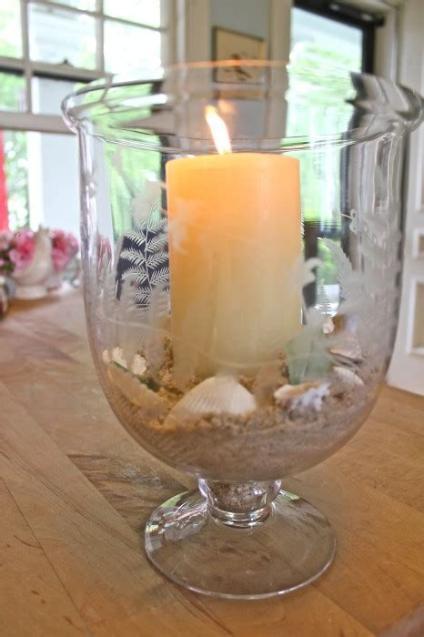 How To Decorate A Hurricane Vase Hurricane Lamp Susan Branch Blog