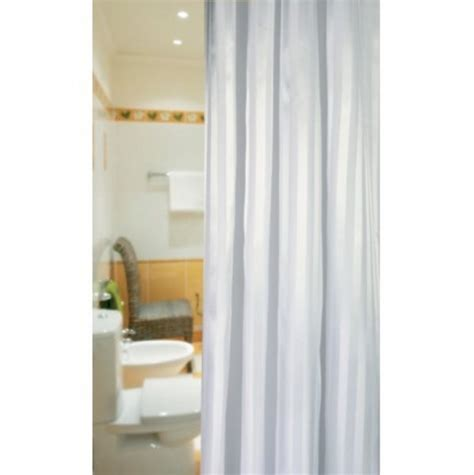 x long shower curtain extra long satin stripe shower curtain out of eden