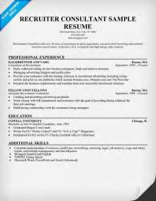 recruiter resume sle maxim healthcare recruiter sle resume specialty cheese