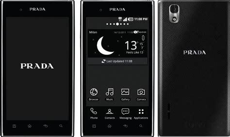 lg2 mobile objeto de deseo celular prada lg trend