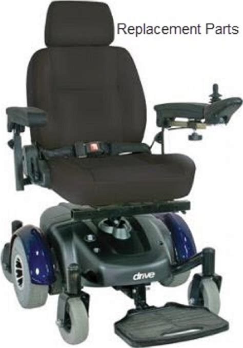 image ec mid wheel drive power wheelchair replacement parts